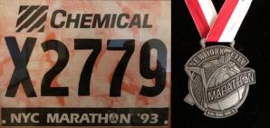 NYC Marathon 1993