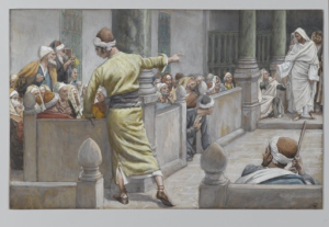 The Healed Blind Man Tells His Story to the Jews